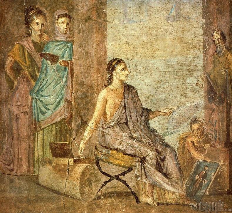 Эртний Грекд эмэгтэй хүн болж амьдарсан