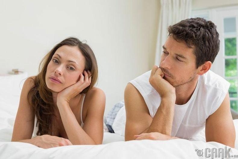 Цэвэршилт нь бэлгийн харилцаанаас татгалзах шалтгаан биш