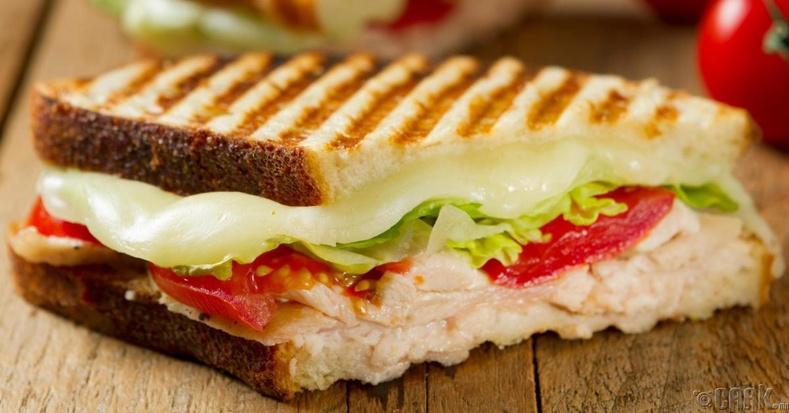 Хавчуургатай талх (Sandwich)