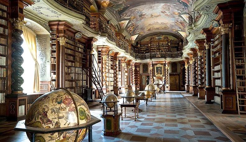 Дэлхийн хамгийн тансаг номын сан