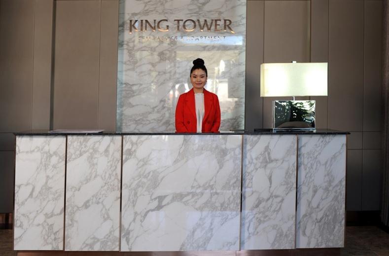 King Tower-ын давуу тал зөвхөн оршин суугчдад зориулсан тусгайлан үйлчлэх үйлчилгээний төвүүд: