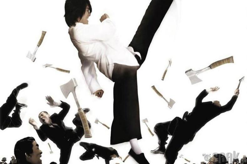Kung Fu Hustle кино Shaolin Soccer киноны амжилтыг эвдэж, Хойд Америкт хамгийн их ашиг олсон Хонконг кино болжээ