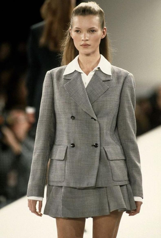 Кейт Мосс (Kate Moss) 18 насандаа