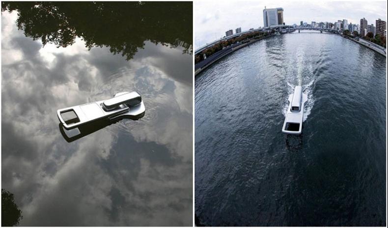 """Усыг """"цахилгаанддаг"""" хөлөг онгоц"""