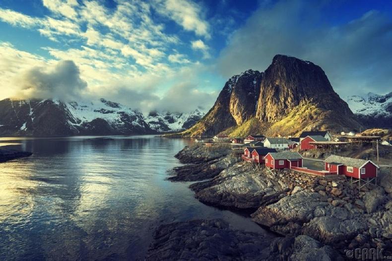 Райнэ Лотофен, Норвеги