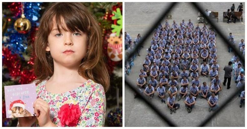 Хятад хоригдлуудын нууцаар илгээсэн захидал 6 настай Британи охинд очжээ