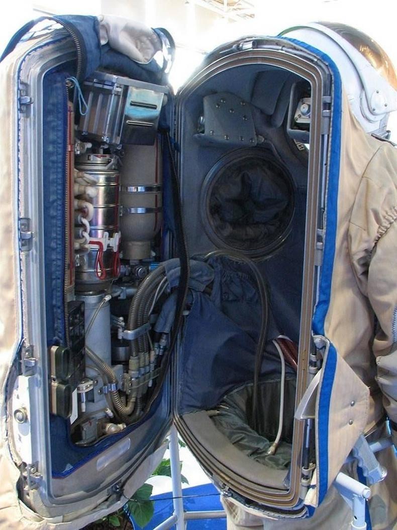 Сансрын нисгэгчийн хувцас дотор бүхэл бүтэн хэцүү техник ажиллаж байдаг