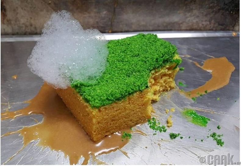 Хөөсөнцөр бялуу