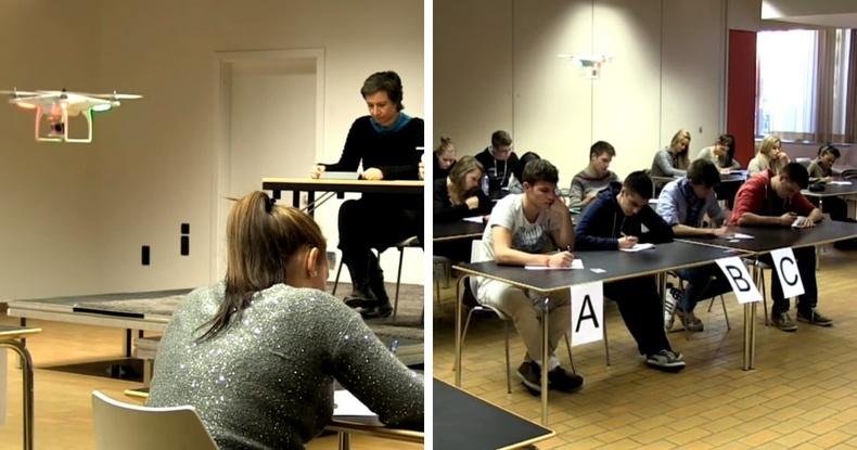 Германы нэгэн сургуульд дрон ашиглажээ. Орчин үеийн асуудалд орчин үеийн шийдэл л хэрэгтэй.
