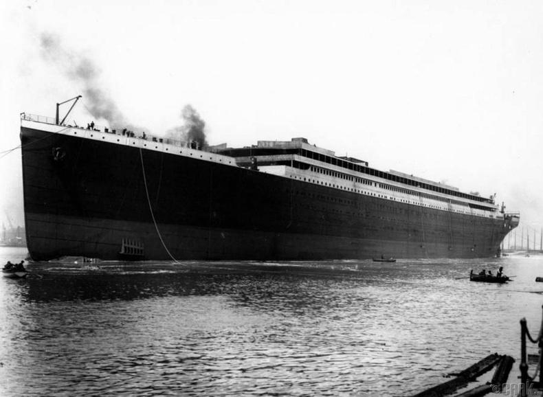 Титаник хөлгийн анхны гэрэл зураг