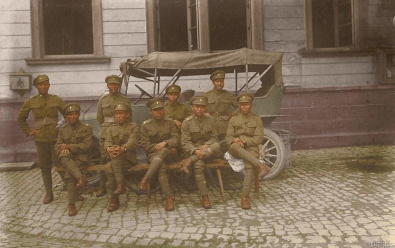 Сиамын корпусын цэргүүд, Германы Гайнсхайм тосгон
