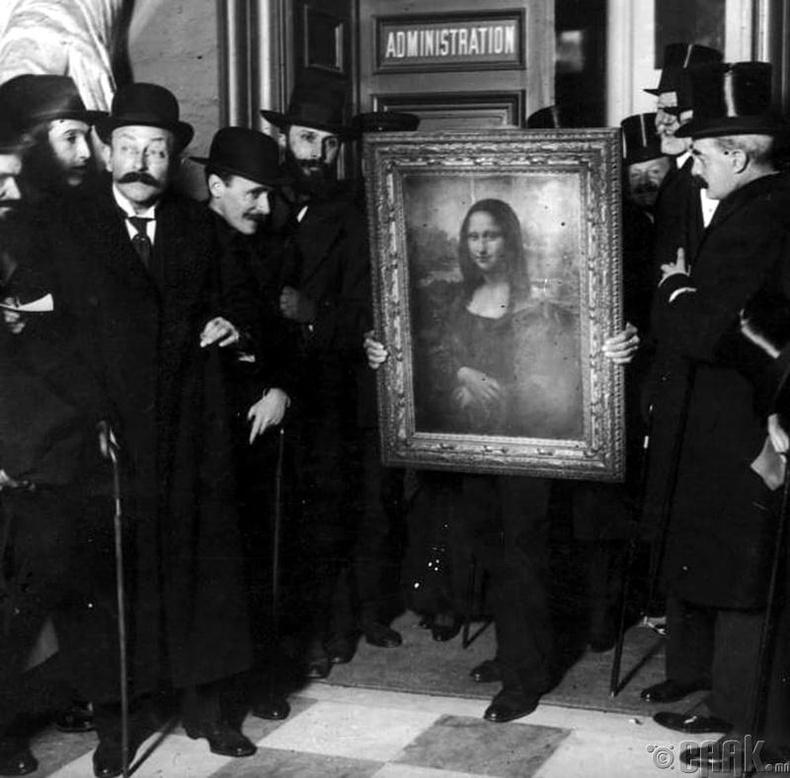 """The Mona Lisa"" уран зураг"