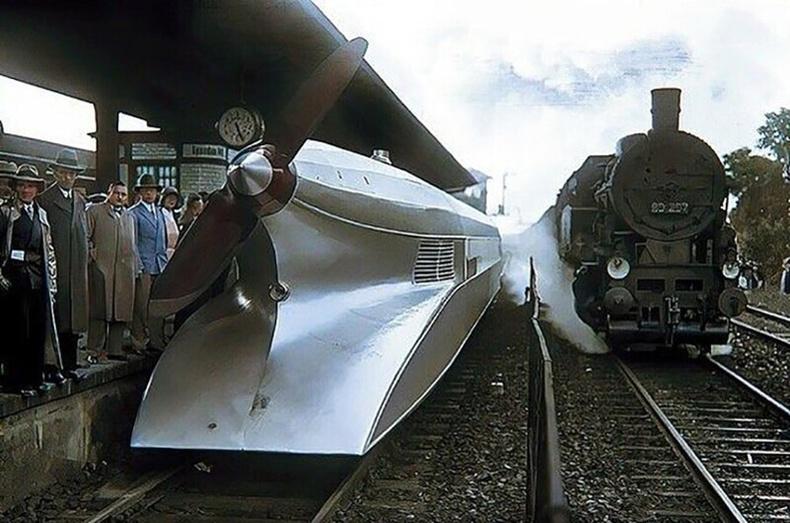 Онгоцны хөдөлгүүртэй галт тэрэг, Берлин - 1931 он