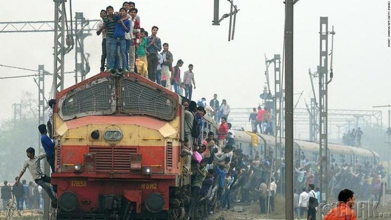Энэтхэгийн галт тэрэгний зам