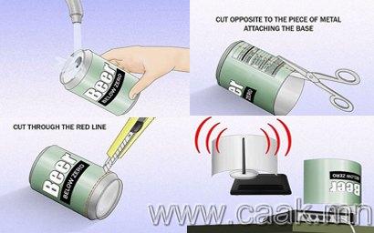 WiFi-ын хамрах хvрээг ихэсгэх антенн хийх арга