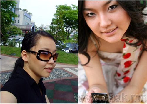 Монголын vзэсгэлэнт охид (103 Фото)