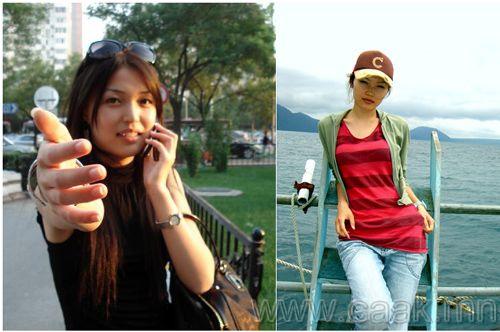 Монголын vзэсгэлэнт охид (75 Фото)