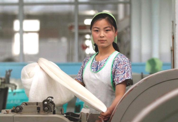 Хойд Солонгосын эмэгтэй ажилчид