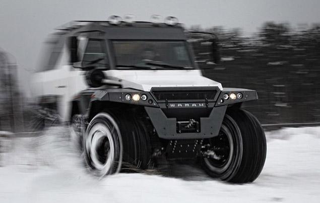 Оросуудын бүтээсэн хүчирхэг машин
