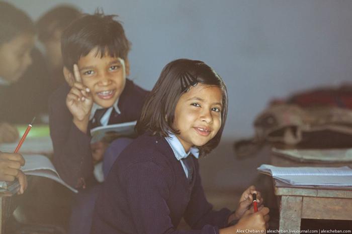 Энэтхэгийн дунд сургуулийн амьдрал