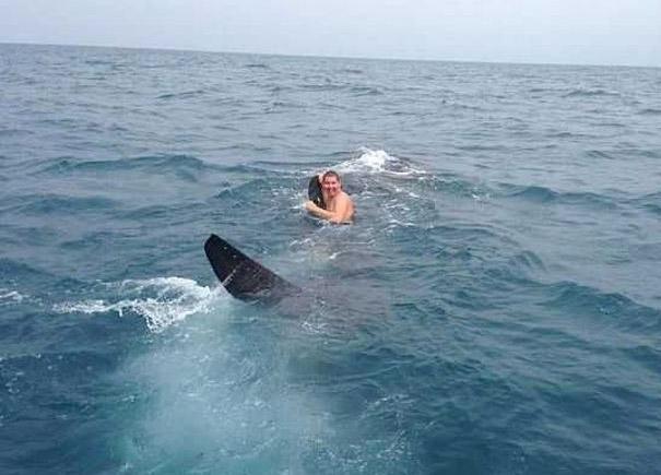 9 метр урт махчин загастай сэлсэн нь...