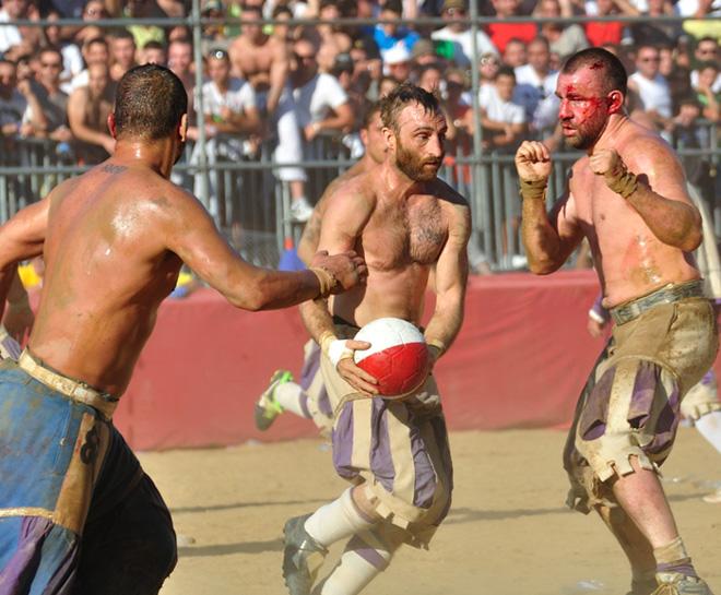 Италийн хамгийн харгис спорт
