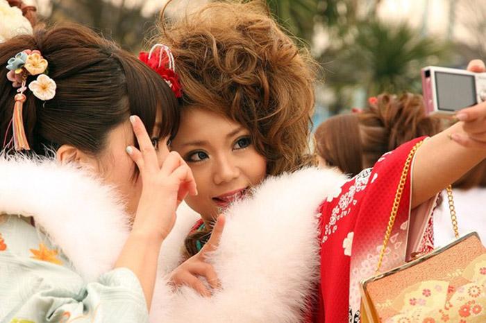 Япон охидын 20 насны баяр