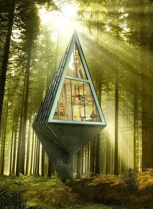 Ой доторхи орчин үеийн эко барилга