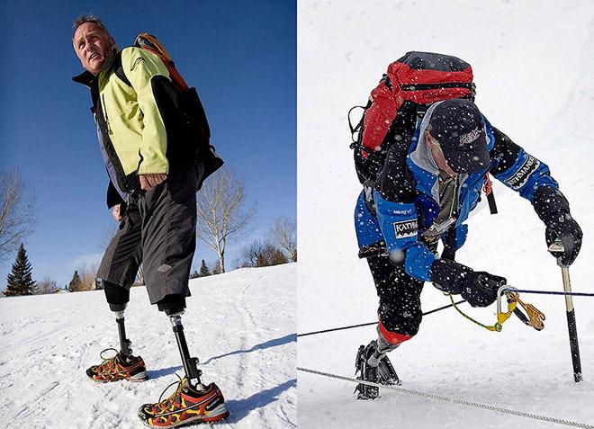 Эверестэд авирсан анхны хөлгүй хүн