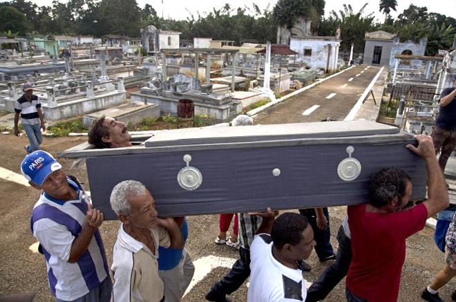 Кубын хачирхалтай оршуулга