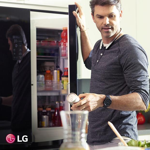 LG Door-in-Door хөргөгч–тавиур бүр нь эмх цэгцтэй!
