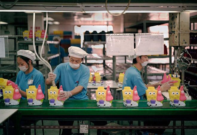 Хятадын тоглоомын үйлдвэр
