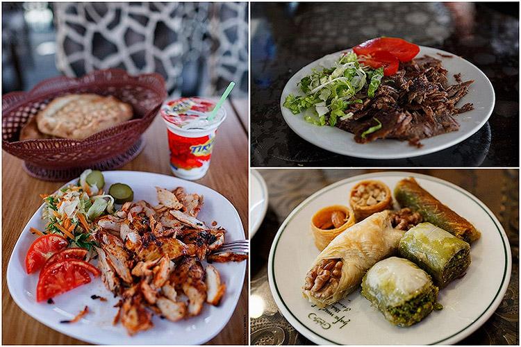 Туркийн гудамжны хоол