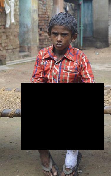 Энэтхэгийн аварга гарт хүү