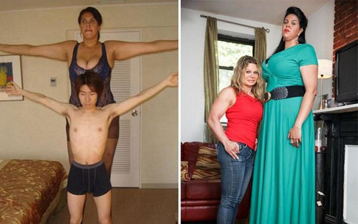 Бразилийн хамгийн өндөр эмэгтэй