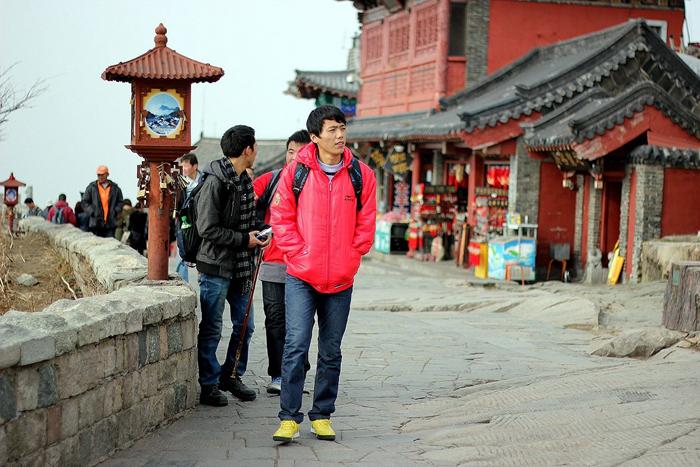 """Хятадын 1545 метрт орших """"Тайшань"""" ариун уул"""