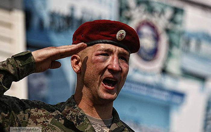 Оросын тусгай хүчний шалгуур