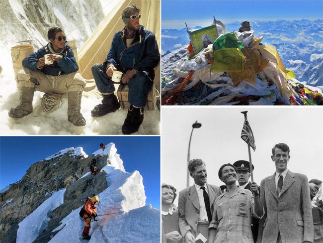 Эверестийн оргилд анх гарсан хоёр зоригтон