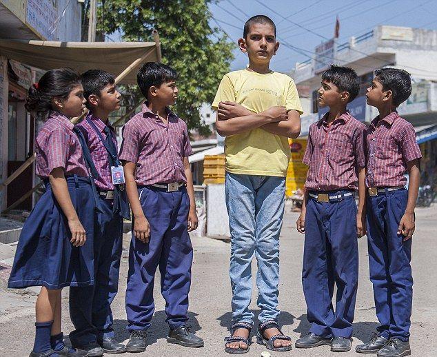 Дэлхийн хамгийн өндөр 5 настай хүү