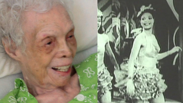 Өөрийнхөө бичлэгийг 80 жилийн дараа харсан бүжигчин