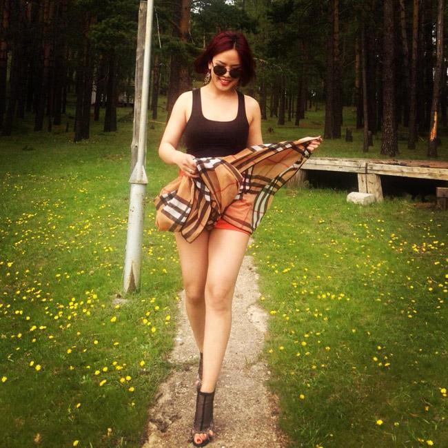 Монголын үзэсгэлэнт охид (100 фото) №129