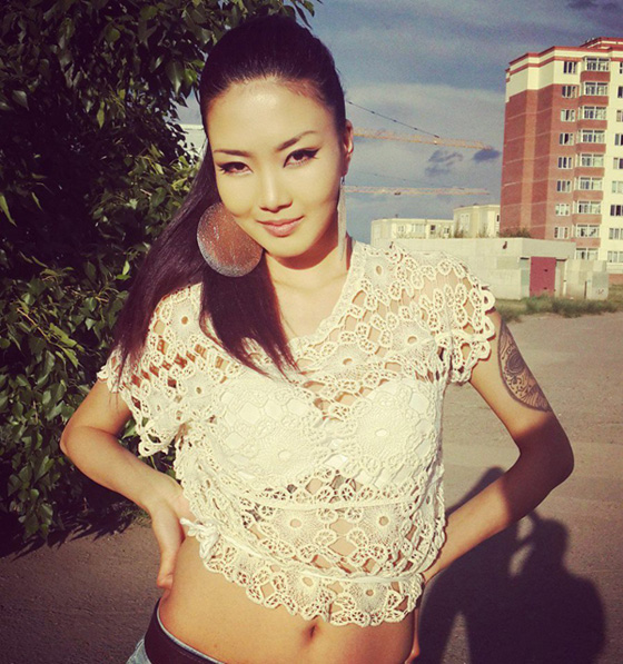 Монголын үзэсгэлэнт охид (100 фото) №131