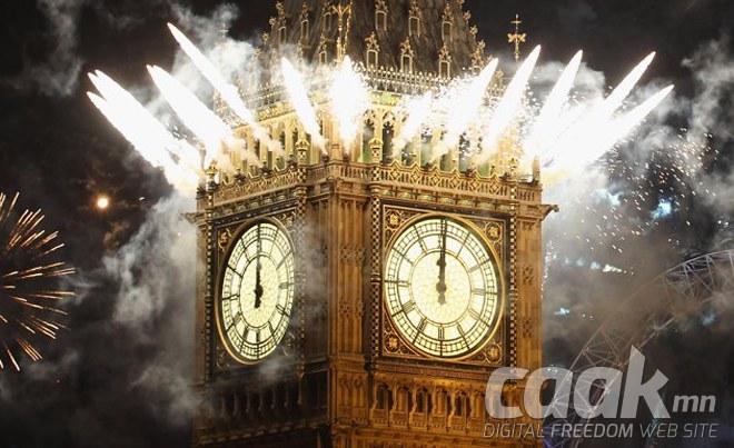 Шинэ жилийн тухай сонирхолтой баримтууд