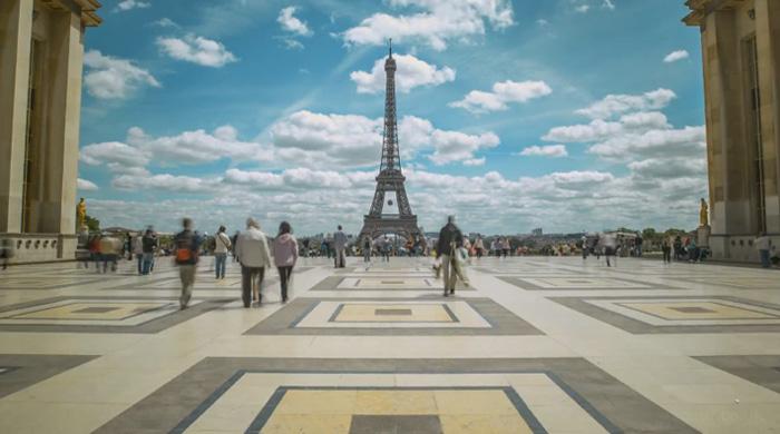 Парис хотыг гайхалтай харуулсан бичлэг