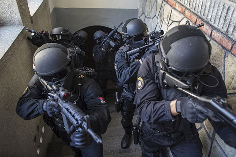 Орон орны цагдаа, тусгай хүчнийхэн