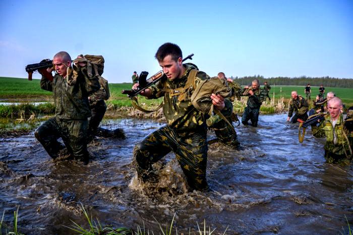 Орос цэргүүдийн ширүүн тэмцэл