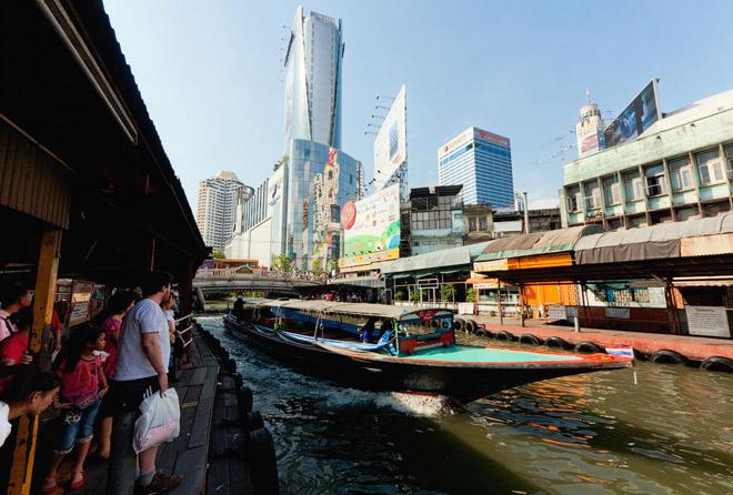 Тэнгэр лүү тэмүүлэх Бангкок