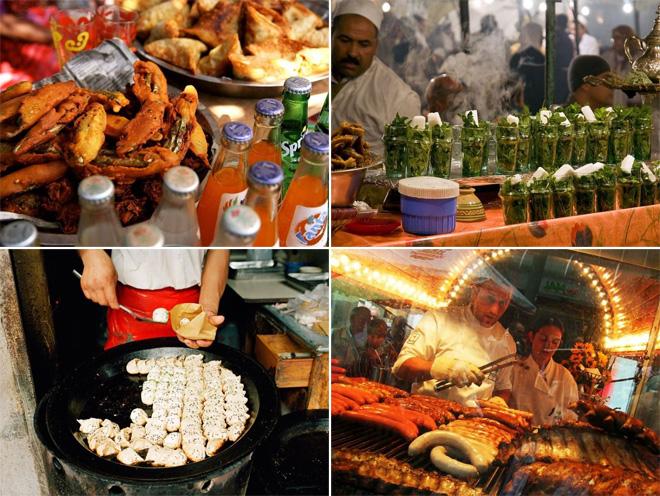 Орон орны гудамжны хоолнууд