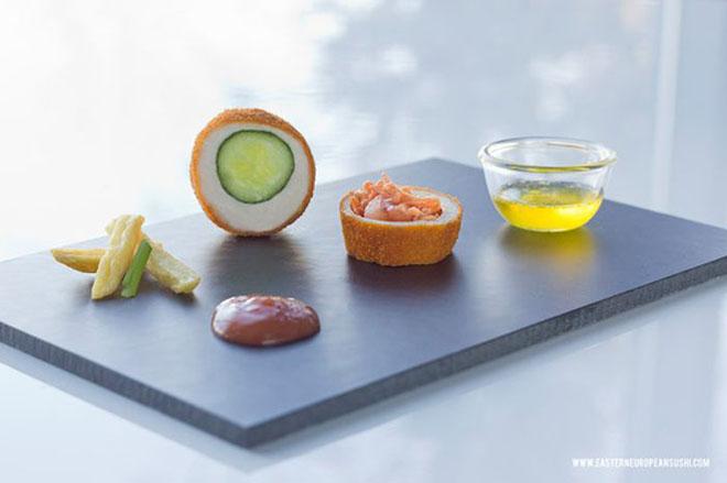 Дорнод Европын алдарт суши