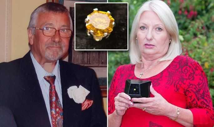 Нөхрийнхөө чандраар үнэт чулуу хийлгэжээ
